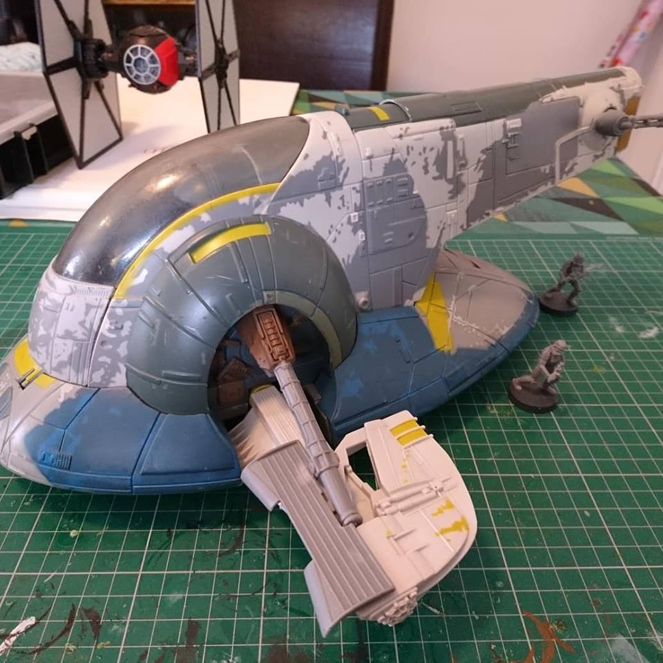 Using Toys and Scale Models for Star Wars Legion