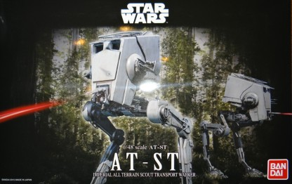 1:48 AT-ST by Bandai