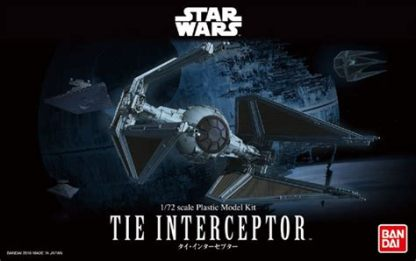 1:72 TIE Interceptor by Bandai