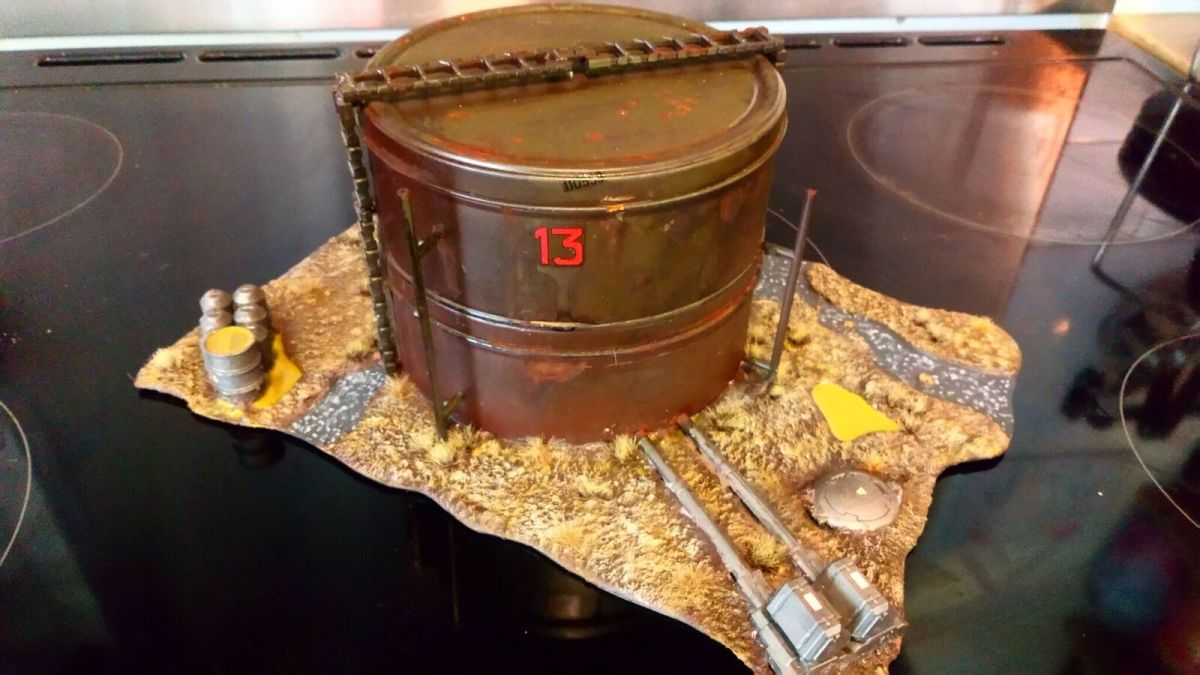 Post-Apocalypse Terrain Build (with biscuit tins)