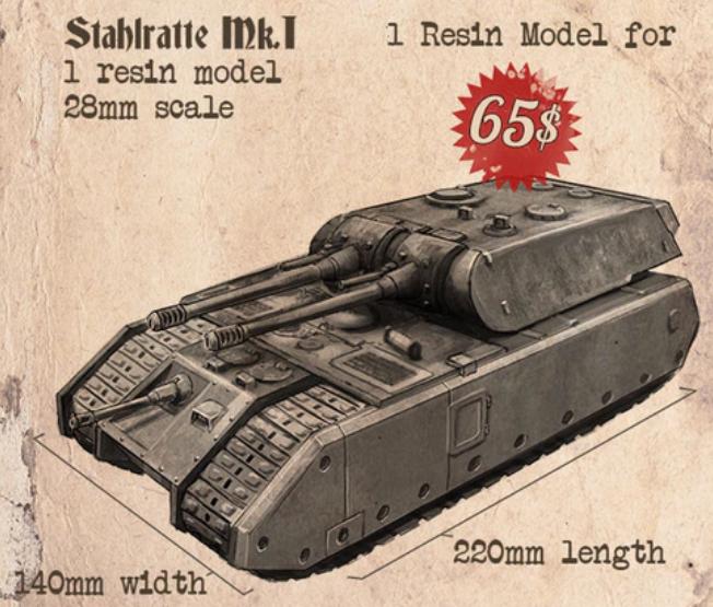 Stahlratte Mk.1