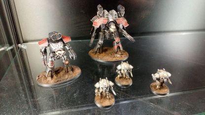New Adeptus Titanicus models
