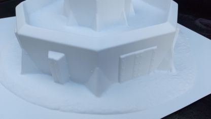Bastion Stronghold Z204 - close up of entrance