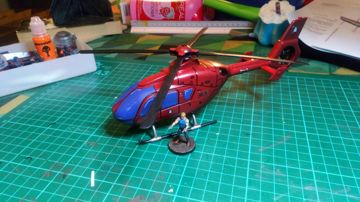Red Shadows Helicopter