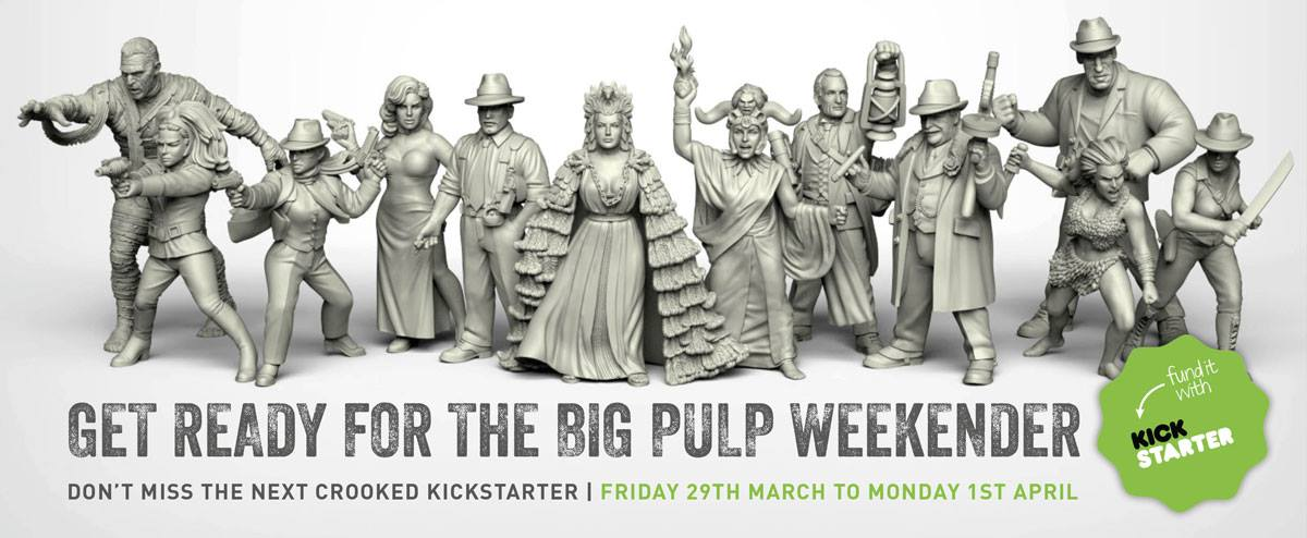 7TV Pulp Miniatures Kickstarter