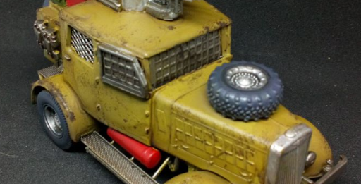 7TV Apocalypse Vehicles – Tamiya conversion