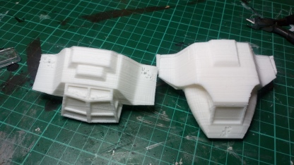 More early prints using the cheaper material