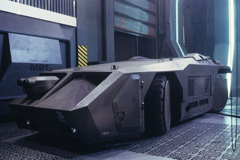 Aliens APC - movie still
