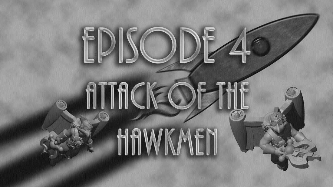 Cold War Miniatures - Episode 4 - Attack of the Hawkmen