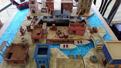Venice docks