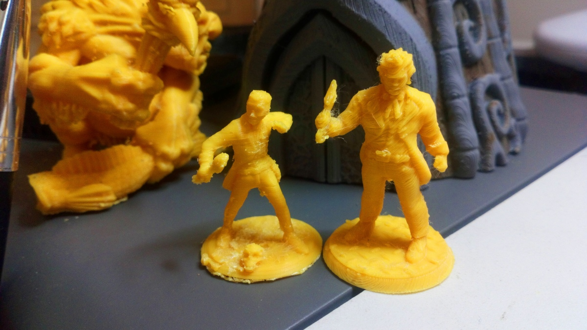Further adventures in 3D printing for tabletop