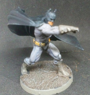 One of four Batman minis in the base set
