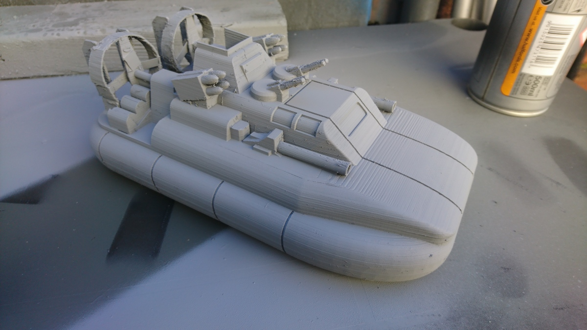 Action Force Hovercraft (3D Printed)