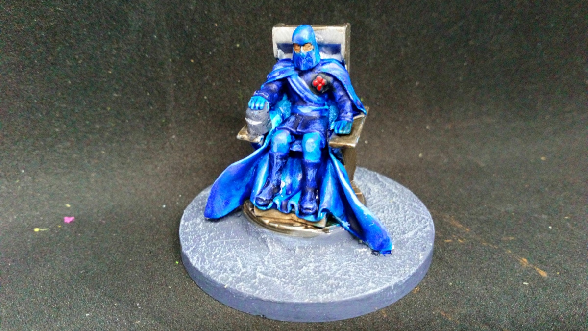 Cobra Commander Heroclix conversion