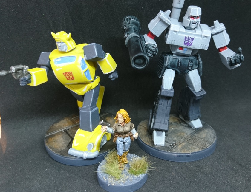 Transformers 28mm scale comparison