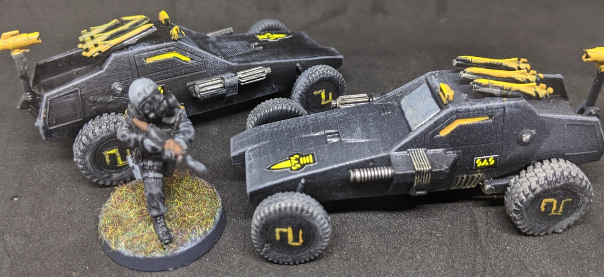 SAS Force Attack Buggy