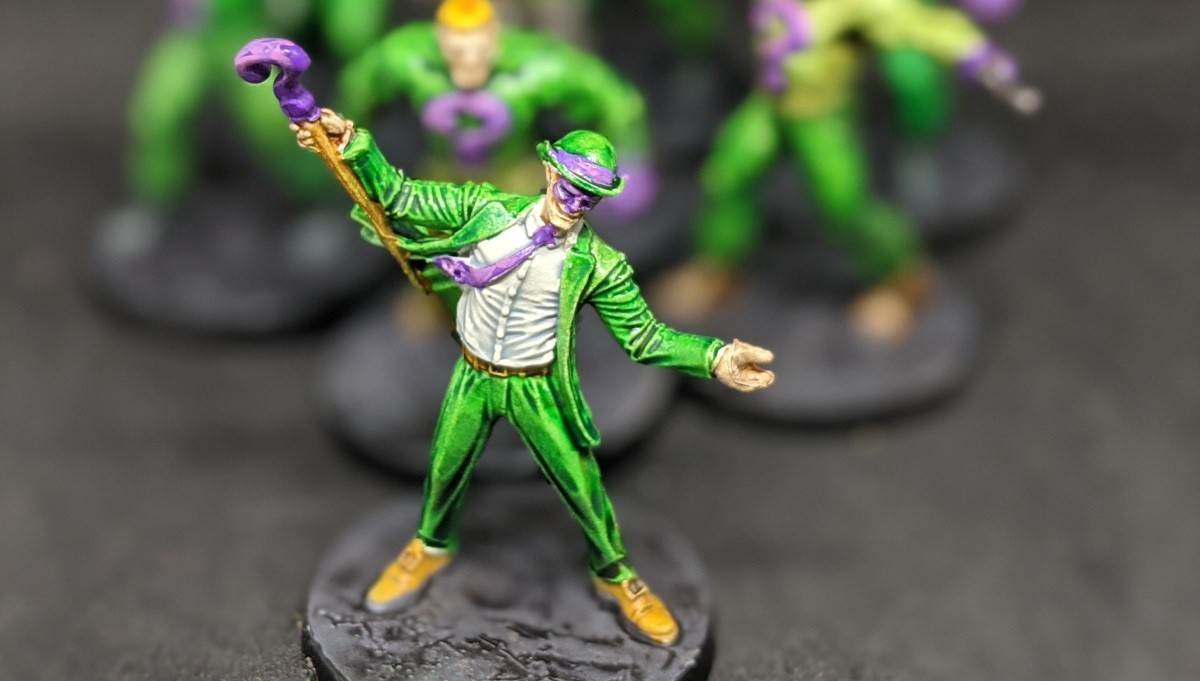 Riddle me this – a Batman painting update