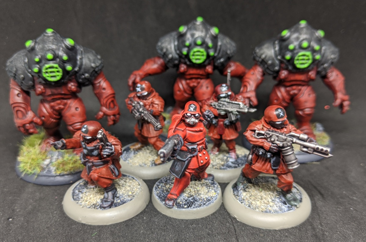 Red Shadows Specialist Troops and more Mutons