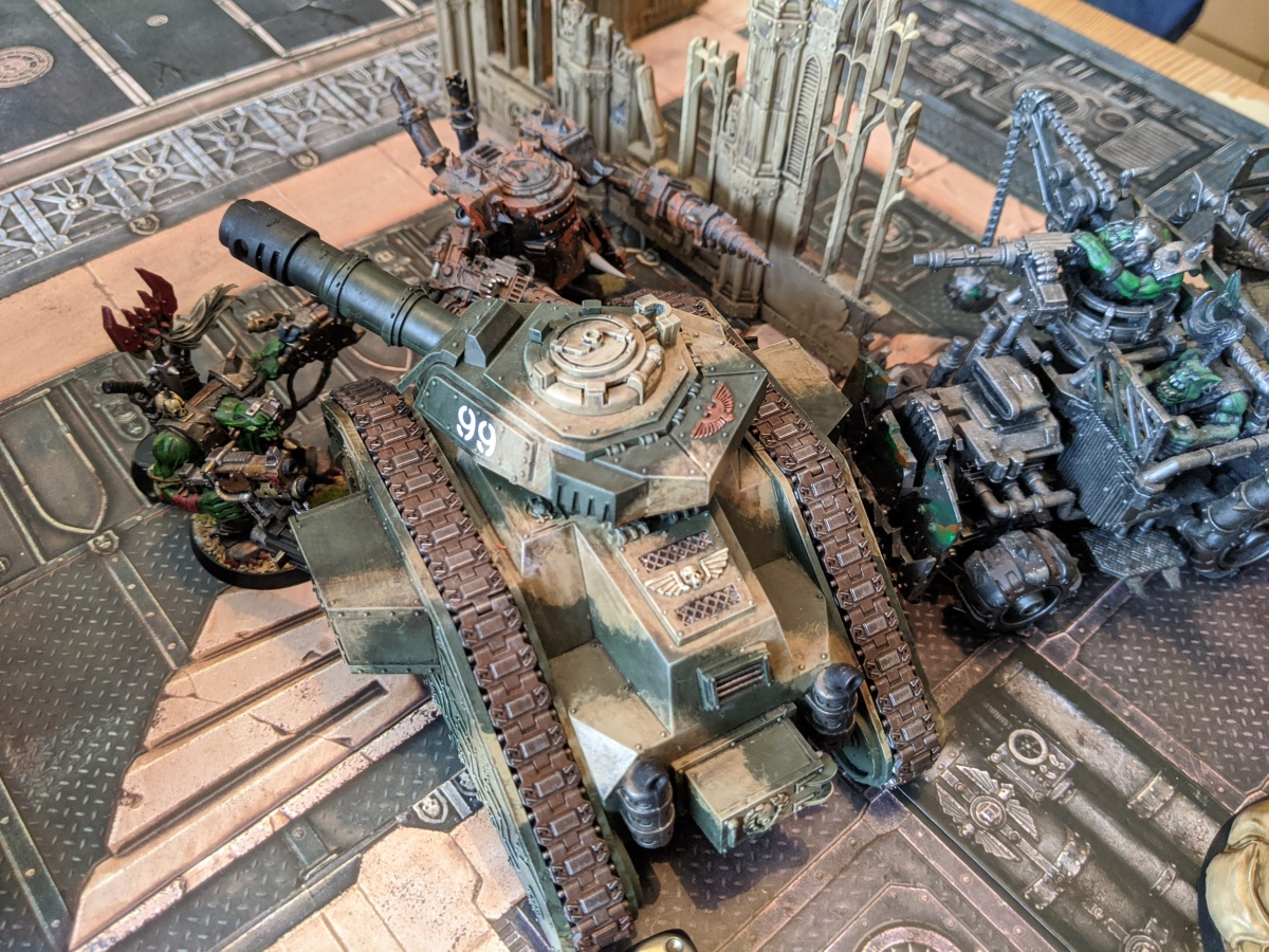 Warhammer 40k 9th Edition – first play