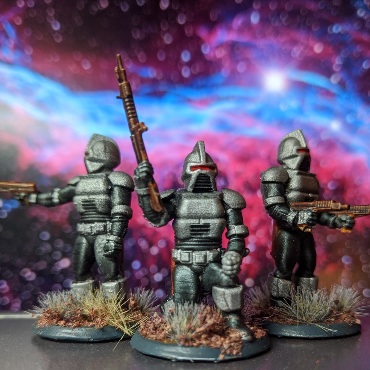 By your command – Galactic Centurions and ImperiousLeader