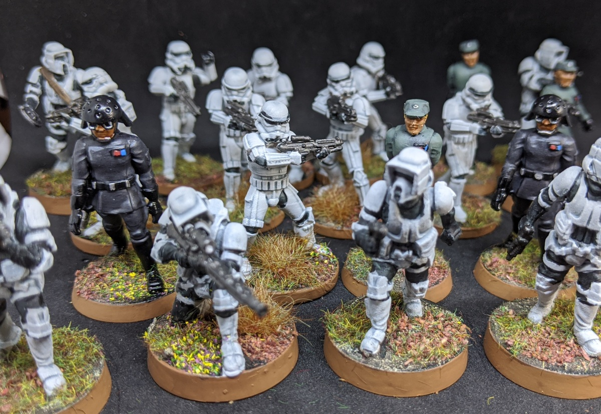 Imperial Entanglements – Rebuilding my (Star Wars) Legion