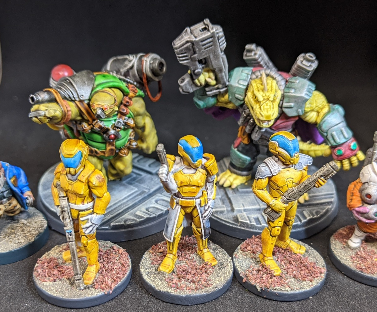 Denizens of the spaceport or crocodiles inspace!