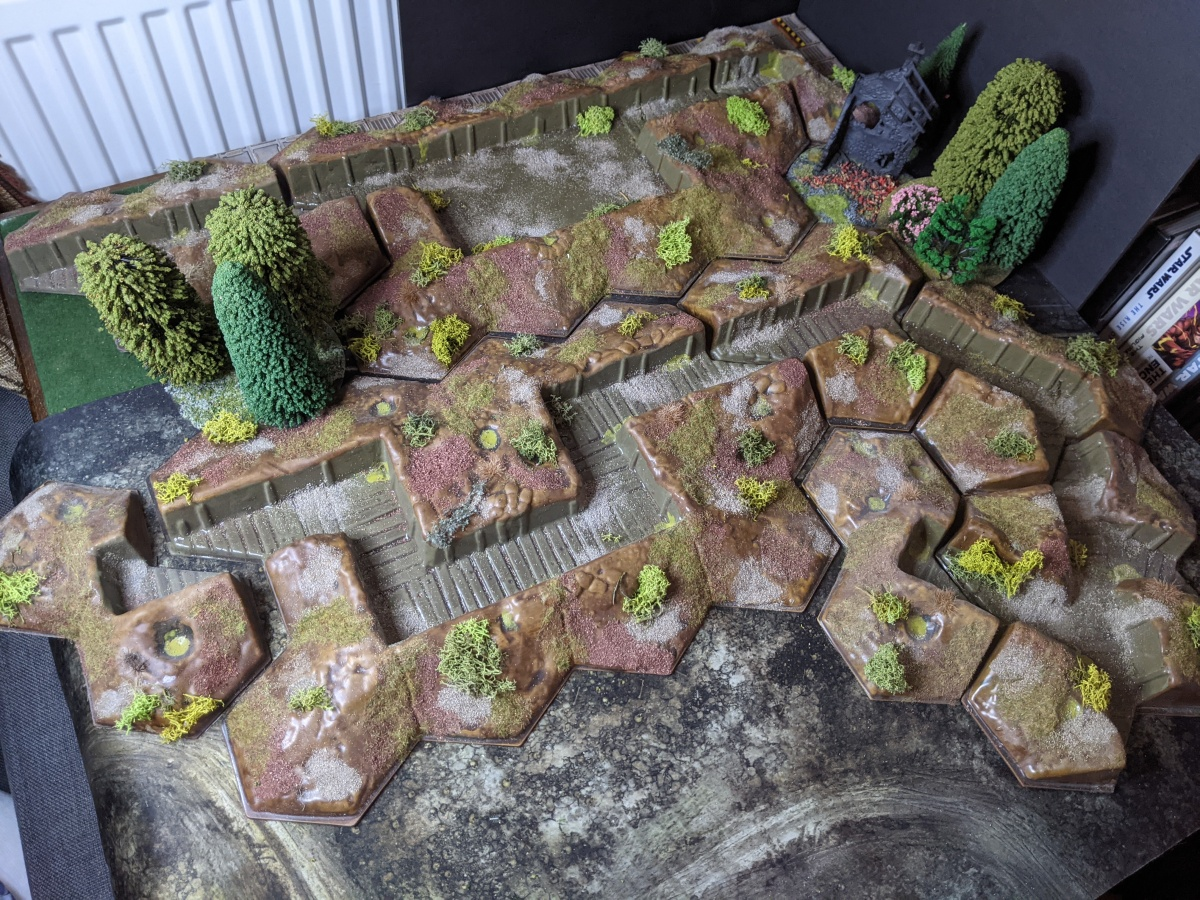 Hexon Trench Terrain – finishing a really (really) oldproject